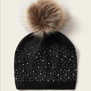 🆕Baby pompon bonnie hat